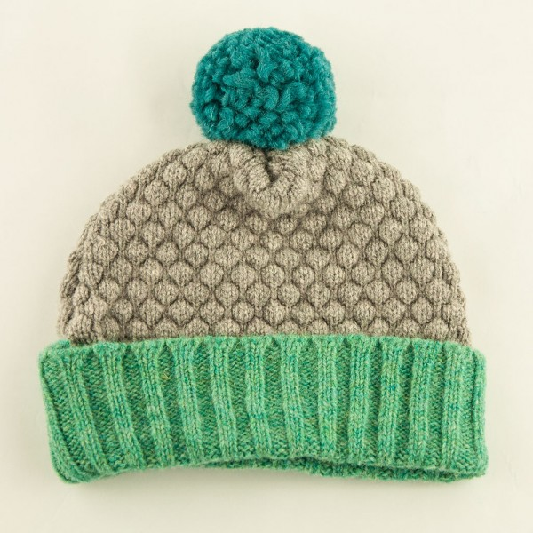 Bobble-hat-grey-mint-Catherine-Tough