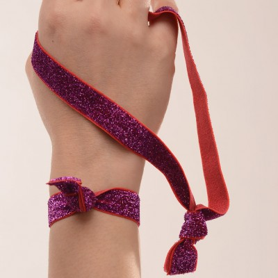 Hairband-duo-Hot-pink-glitter-Popbands