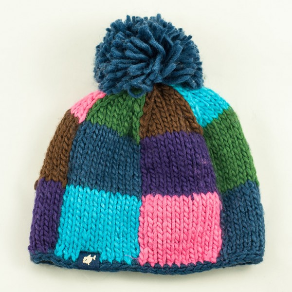 Patchwork-bobblehat-denim-Peschi