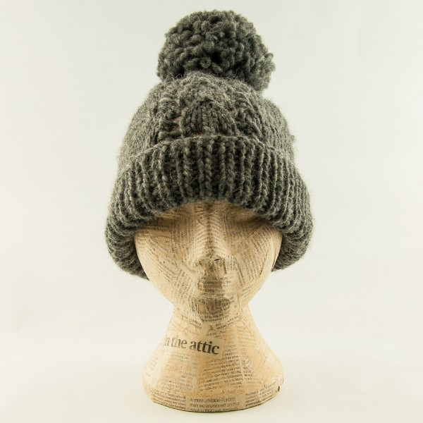 100%-sheep-wool-bobble-hat-Grey-Hat-Attic
