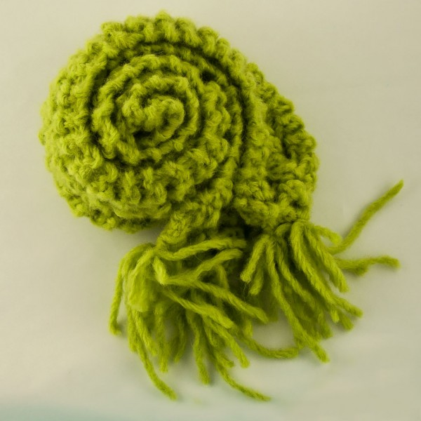 Alpacacotton-mix-long-scarf-Lime-Hat-Attic