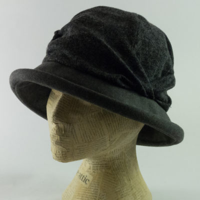 slouch brim hat