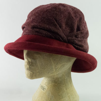 Soft slouch brim hat